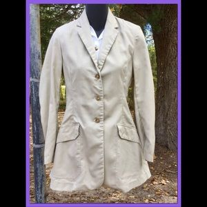 Vtg Khaki/Tan All Weather Blazer, sz SP